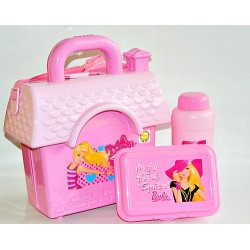 Technoplast House Plastic School Lunch box- Barbie (assorted colours)