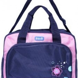 Bravo Mother & Baby Bag (flower)- 2 colours - Blue & Pink