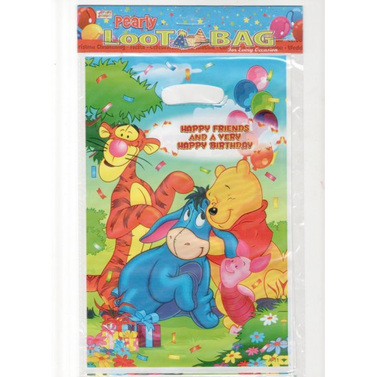 Character Party Loot bags- Assorted xters (PACK OF 10)
