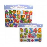"""Beautiful Beginnings """"123"""" Numbers Wall Stickers For Kids Bedroom/Nursery"""