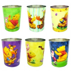 Disney Character Waste Bin (Tin)