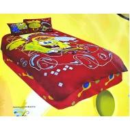 Spongebob 4 Piece TWIN Comforter Set