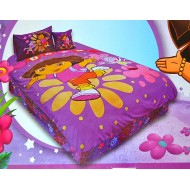 Dora the Explorer Twin Comforter 4piece set