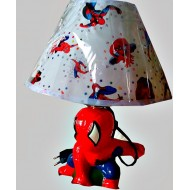 Character Large Bedroom Lamp- Angry Birds & Spiderman