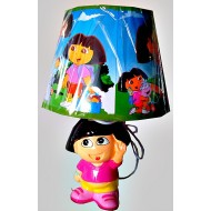 DORA THE EXPLORER Large Bedroom Lamp
