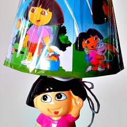 DORA THE EXPLORER Large Bedroom Lamp