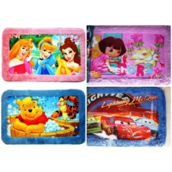 DISNEY CHARACTER RUG FLOOR MAT- Assorted xters