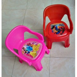 Character Plastic Toddler Chairs- assorted