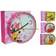 Character Art Clocks- assorted
