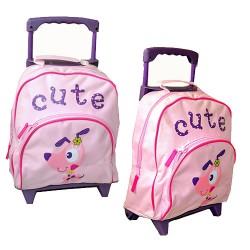 """Cute Pink Girl's 13"""" Mini Trolley"""
