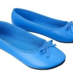 Cherokee Grea Ballet Flats- Blue (Size US 13)