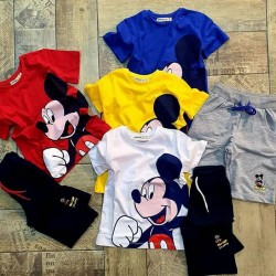 Mickey Mouse 2 piece set - Made in Turkey