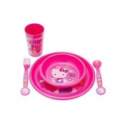 HELLO KITTY DINNERWARE SET