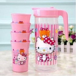 CHARACTER JUG AND CUPS SET
