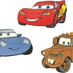 CARS 3D WALL PAPER