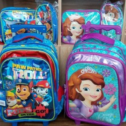 Children School Backpack Set