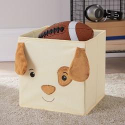 Mainstays Kids Animal Collapsible Storage Bin- Assorted designs