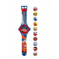 Character 10 Images Projector Digital Wrist Watch For Kids - assorted