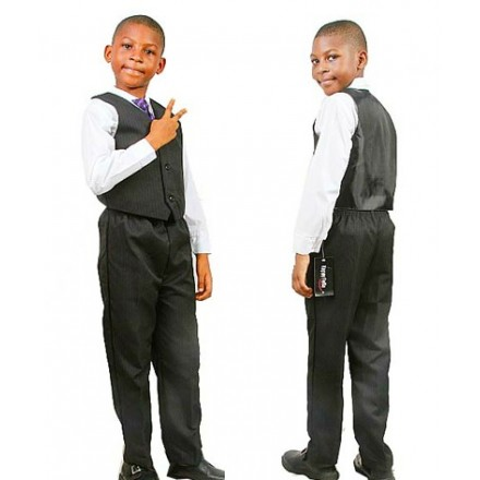 Happy Fella 4pc Boys Suit- 6yrs