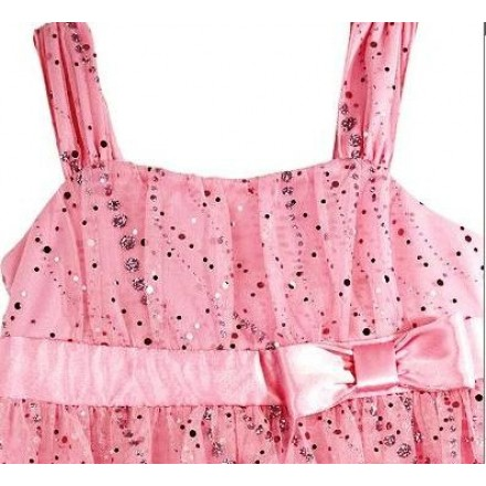 Amy's Closet Pink Sparkle Dress- 4-5yrs