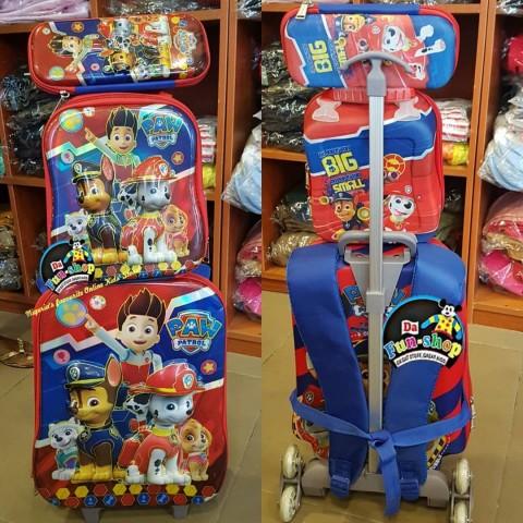 Paw Patrol 6d Trolley School Set
