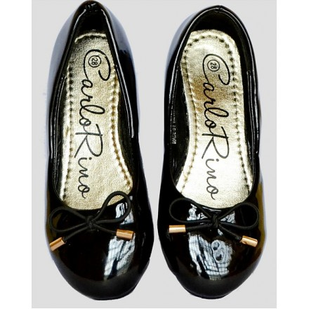 Carlo Rino Girls Patent Dress Shoes- Size 26-35