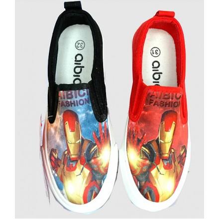 Iron Man Boys Fashion Canvas- size 34, 35- 2 designs