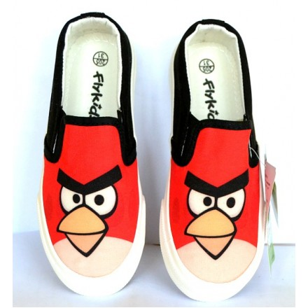 Angry Birds Boys Canvas- Size 30-35