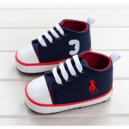 Ralph Polo Baby Boys prewalker shoes- 6-9mths