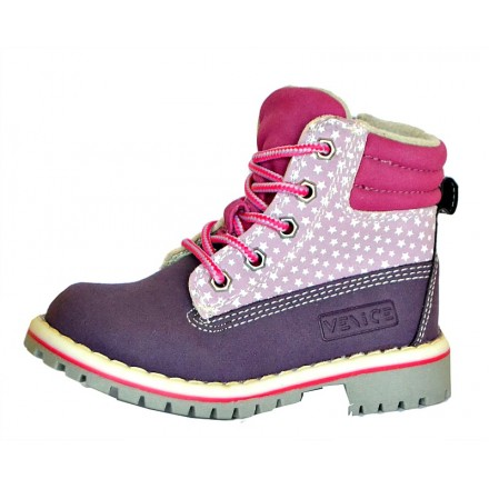 Venice Girls Lace Up Boot (25, 26, 27)