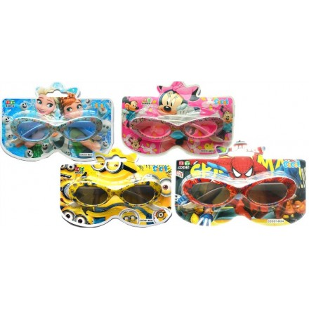 Kids character Sunglasses in pack- Mickey, Minnie, Frozen, Sophia,