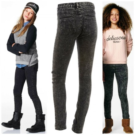 KIABI Girls Skinny denim trousers- 10yrs