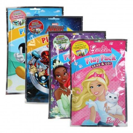 Disney Play Pack Grab & go-  pack of 12 mixed assorted characters