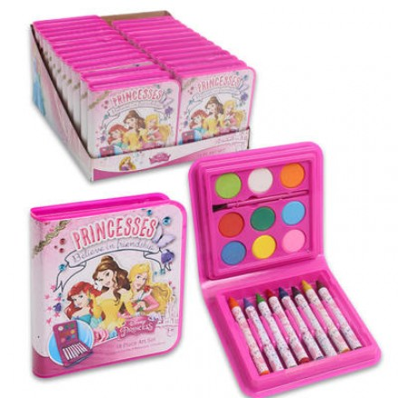 Disney Princess 18-piece Art Set