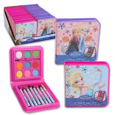 Disney Frozen 18-piece Art Set