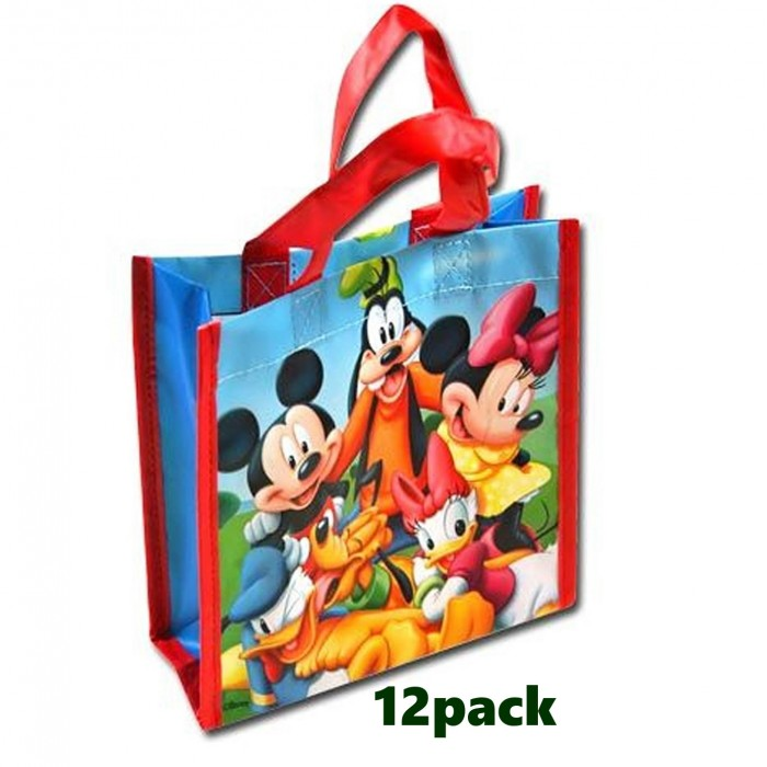 eefd776f6d 12-Pack Disney Mickey Mouse Clubhouse Non-Woven Reusable Mini ...