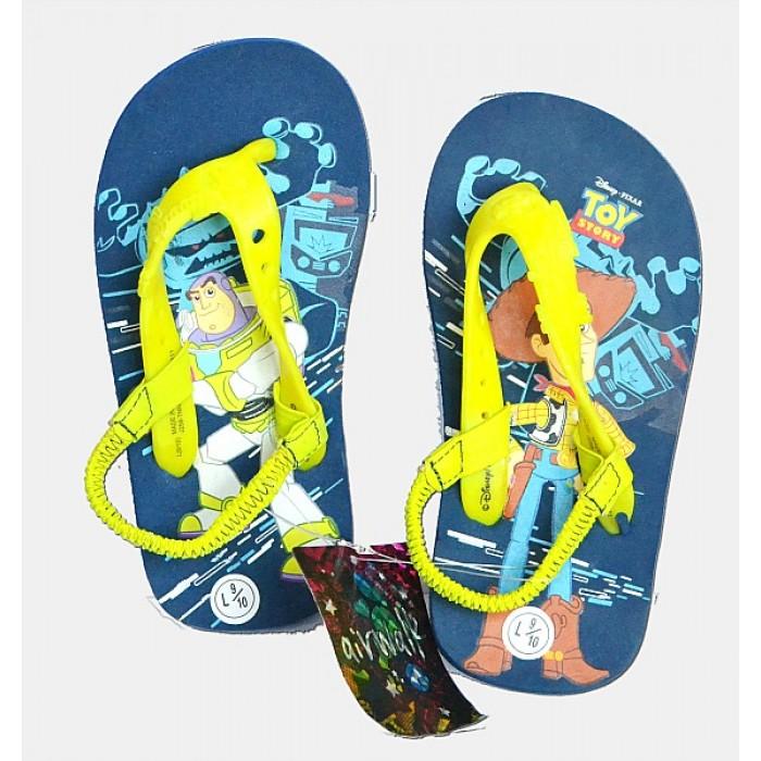 0cd4936a0 Disney Pixar Toy-Story Boys Elastic flip flop Sandals- US size 9 EUR 26