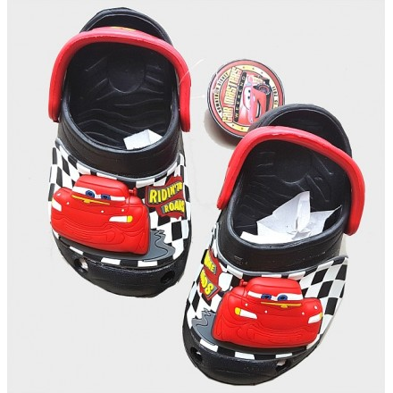 Disney Cars Boys 3d Light up Clogs/Crocs- Size 23