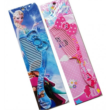 Character Girls Combs- Frozen, My little Pony, hello kitty