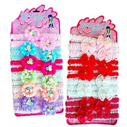 Infant/Baby Girls Cute Head bands- 3pack