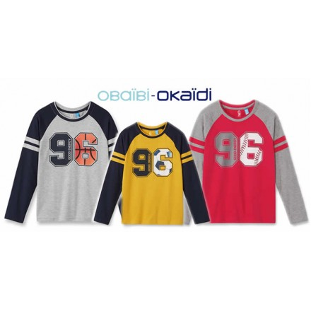 Okaidi Boys Long Sleeve Tees (2-12yrs)