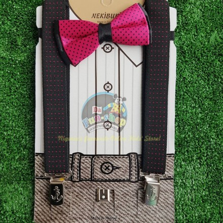 Boys Suspender and Tie Formal Set_1-6yrs