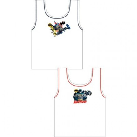 "Official ""Batman"" boys 2 in a pack vests- 6yrs"