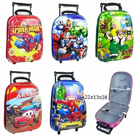 5D Toddler Trolley- 13inches- assorted Designs- boys
