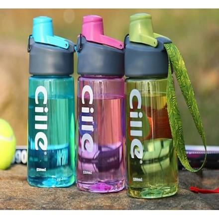 Cille Tritan drinks Bottle- 800ml- Pink, Blue, Green