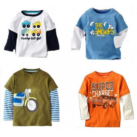 Gap Baby Toddler Boys Tees- 2t-5t