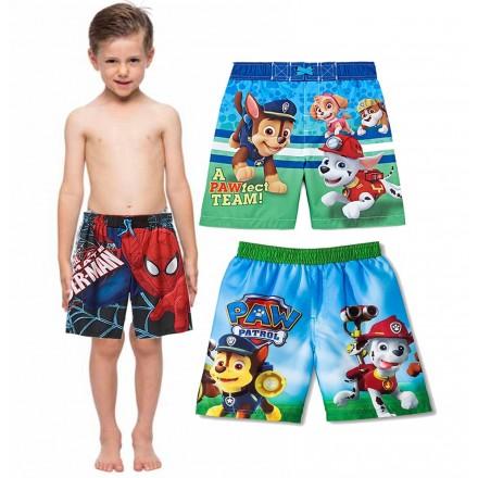 Toddler boys Swim Shorts- Paw Patrol, Spiderman
