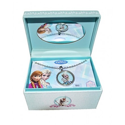 Disney Frozen Pendant Chain Necklace in keepsake Box