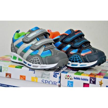 Bubble Bubble Boys Lighted Sneakers- 2 colours- EUR 25-35