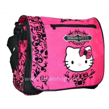 Hello Kitty Varsity Messenger Bag